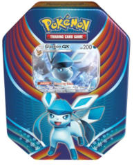 Pokemon Evolution Celebration Tin - Glaceon GX