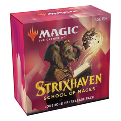 MTG Strixhaven: School of Mages Prerelease Kit - Lorehold