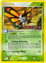 Beautifly - 2/107 - Rare - Reverse Holo