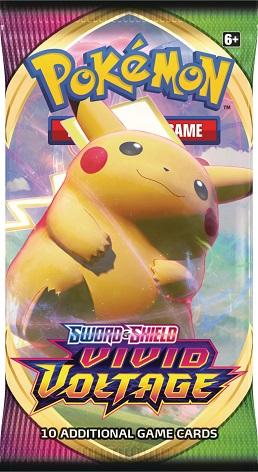 Pokemon SWSH4 Vivid Voltage Booster Pack