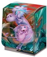 Japanese Pokemon SM11 Mewtwo & Mew Deck Box