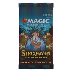 MTG Strixhaven: School of Mages COLLECTOR Booster Pack
