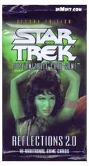 Star Trek CCG Reflections 2.0 Booster Pack