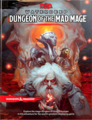 Dungeons & Dragons 5th Edition Waterdeep Dungeon of the Mad Mage