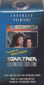 Star Trek CCG Enhanced Premiere The Trois Package