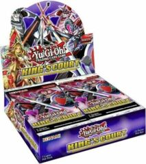 Yu-Gi-Oh King's Court 1st Edition Booster Box