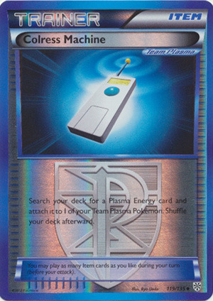 Rare Reverse Holo Vanilluxe Plasma Storm 37//135 NM-Mint!!! BW