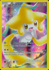 Jirachi XY112 Full-Art Holo Promo - Mythical Pokemon Collection Jirachi Exclusive