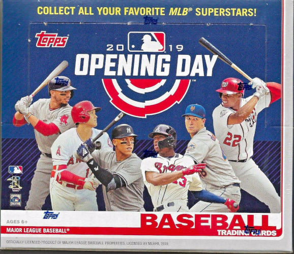 2019 Topps Opening Day Mlb Baseball Hobby Box Sports Cards