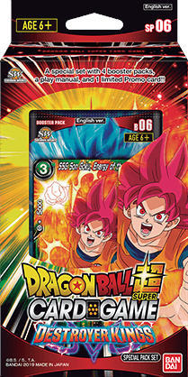 Dragon Ball Super Card Game DBS-SP06 Destroyer Kings Special Pack