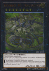 Number 46: Dragluon - SHSP-EN050 - Ultimate Rare - 1st Edition