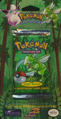 Pokemon Jungle Unlimited Edition BLISTER Pack Scyther Artwork