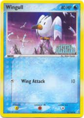 Wingull - 70/100 - Common - Reverse Holo
