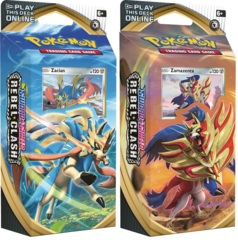 Pokemon SWSH2 Rebel Clash Theme Deck - Set of 2