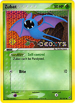 Zubat Pokemon Ex Hidden Legends Common #83//101