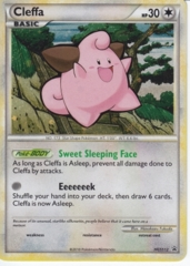 Cleffa HGSS12  Cosmos Holo Promo - HS Unleashed Blister Exclusive