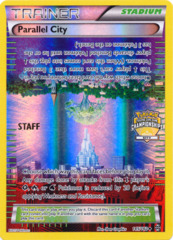 Parallel City 145/162 Sheen Holo STAFF Promo - 2016 City Championships