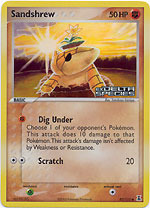 Sandshrew - 82/113 - Common - Reverse Holo