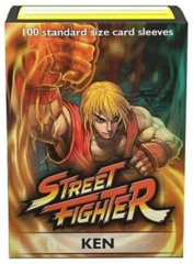 Dragon Shield Classic Art Standard-Size Sleeves - Street Fighter Ken - 100ct