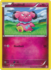 Snubbull 11/30 Non-Holo Promo - Sylveon Trainer Kit Exclusive
