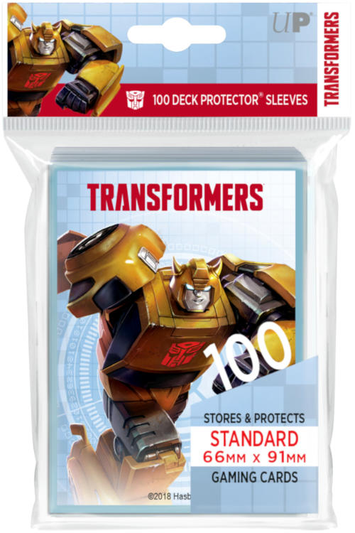 Ultra Pro Standard Size Transformers Sleeves - Bumblebee - 100ct