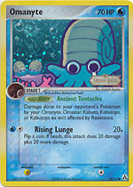 Omanyte - 60/92 - Common - Reverse Holo