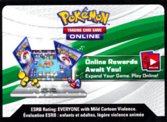 Aurorus EX Box Pokemon TCG Online Code Card