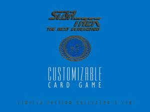 Star Trek CCG Limited Edition Collectors Tin