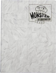 Monster Protectors 9-Pocket Binder - Marble White w/ White Pages