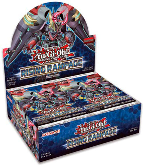 Yu-Gi-Oh Rising Rampage 1st Edition Booster Box