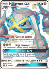 Metagross-GX 157a/145 Full-Art Promo- Hidden Fates Ultra Ball Collection