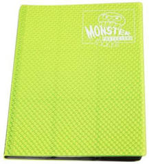 Monster Protectors 9-Pocket Binder - Holo Highlighter Yellow