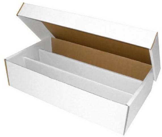 3-Rowed Storage Box (Holds Approximately 3,000 Cards)