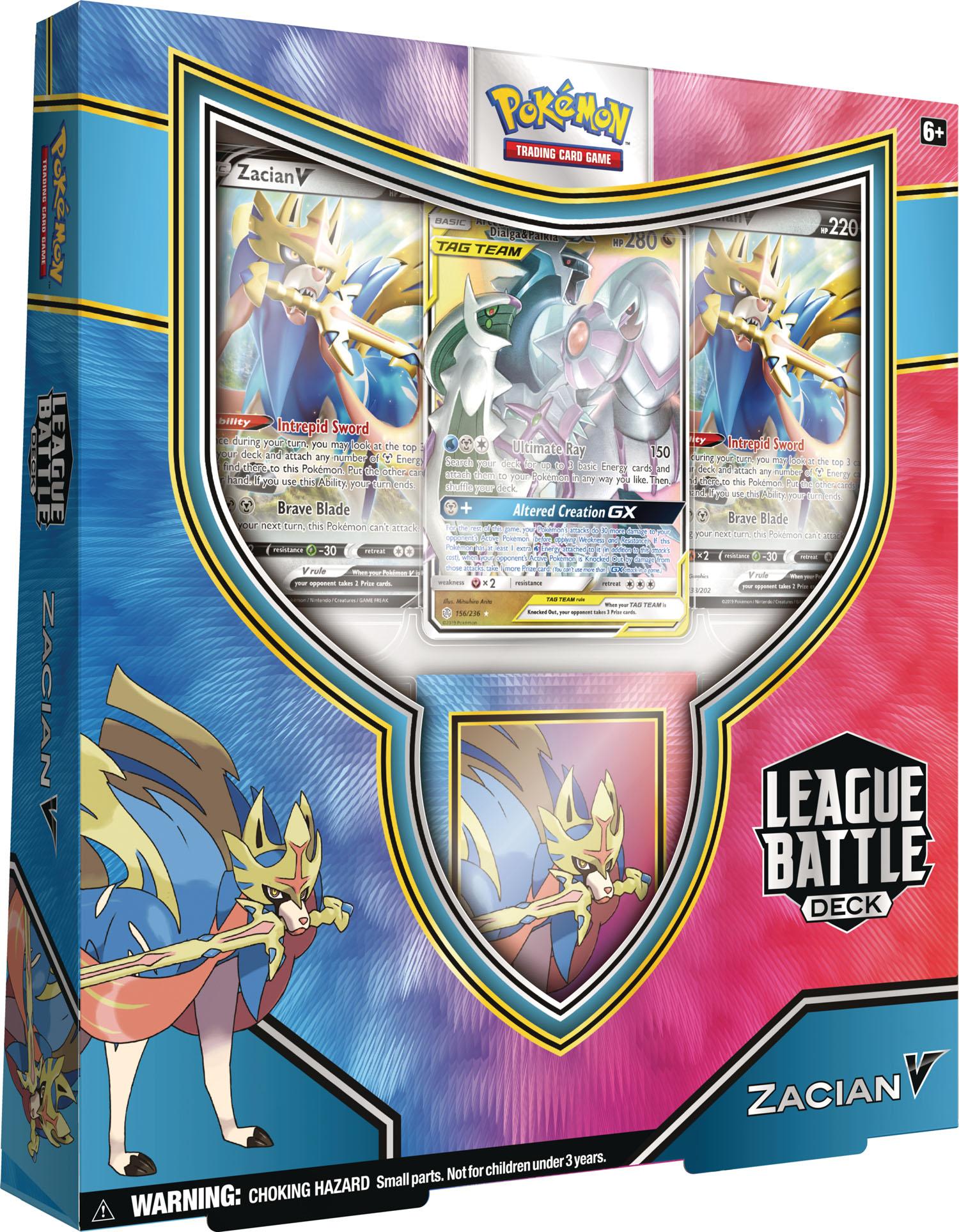 Pokemon League Battle Deck - Zacian V