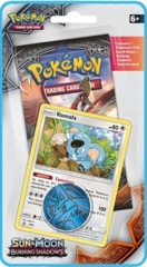 Pokemon SM3 Burning Shadows Checklane Blister - Komala