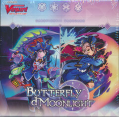 Cardfight!! Vanguard VGE-V-BT09 Butterfly d'Moonlight Booster Box