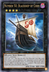 Number 50: Blackship of Corn Ultra Rare Holo YZ02-EN001