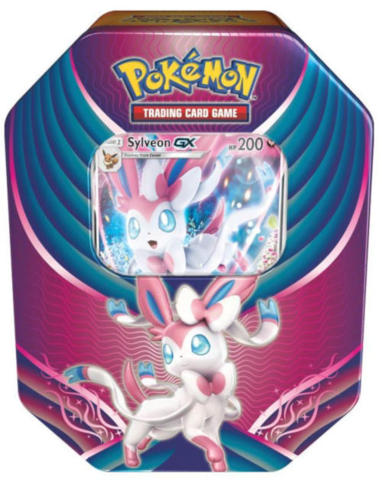 Pokemon Evolution Celebration Tin - Sylveon GX