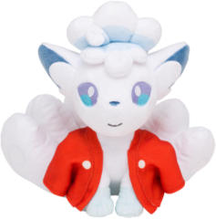 Japanese Pokemon Center 100 Poke Night Alolan Vulpix Plush