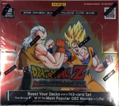 Panini Dragonball Z Vengeance Booster Box