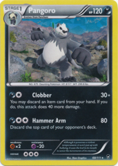 Pangoro 68/111 Cracked Ice Holo Promo - Theme Deck Exclusive
