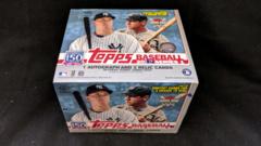 2019 Topps MLB Baseball Series 1 Jumbo Hobby Box