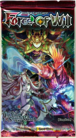 Force of Will The Time Spinning Witch Booster Pack