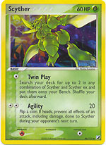 Scyther - 46/115 - Uncommon - Reverse Holo