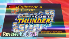 Pokemon SM8 Lost Thunder Reverse Holo Set (174 Cards)