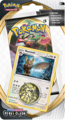 Pokemon SWSH2 Rebel Clash Checklane Blister Pack - Noctowl