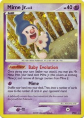 Mime Jr. DP22 Cosmos Holo Promo - Majestic Dawn Blister Exclusive