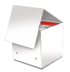 Ultra Pro Cube (Cub3) Deck Box - White Artist Series