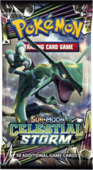 Pokemon Sun & Moon SM7 Celestial Storm Booster Pack