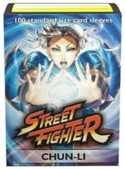 Dragon Shield Classic Art Standard-Size Sleeves - Street Fighter Chun-Li - 100ct